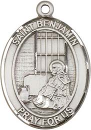 Religious Medals: St. Benjamin SS Saint Medal