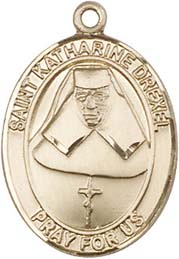 Religious Medals: St. Katherine Drexel GF Medal