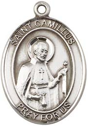 Religious Medals: St. Camillus SS Saint Medal