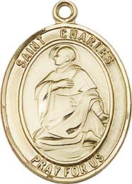 Religious Medals: St. Charles GF Saint Medal