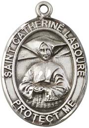 Religious Medals: St. Catherine Laboure SS Medal