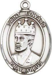 Religious Medals: St. Edward SS Saint Medal