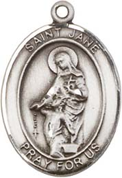 Religious Medals: St. Jane of Valois SS Medal