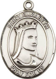 Religious Medals: St. Elizabeth of Hungary SS Md
