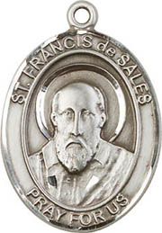 Religious Medals: St. Francis DeSales SS Medal