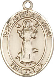 Religious Medals: St. Francis GF Saint Medal