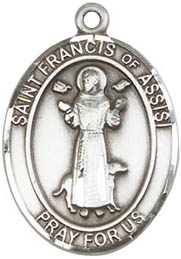 St. Francis Assisi SS Medal