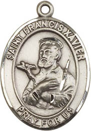 Religious Medals: St. Francis Xavier SS Medal