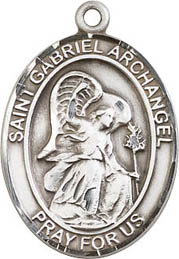 Religious Medals: St. Gabriel Archangel SS Medal