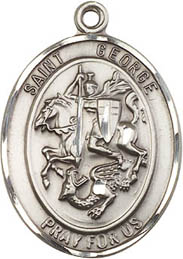 Religious Medals: St. George SS Saint Medal