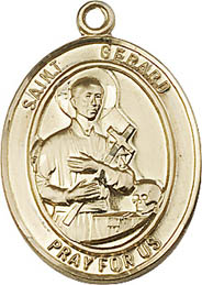 Religious Medals: St. Gerard GF Saint Medal