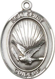 Religious Medals: Holy Spirit SS Saint Medal