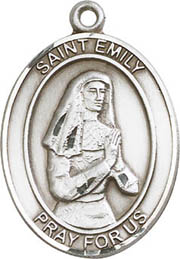 Religious Medals: St. Emily SS Saint Medal