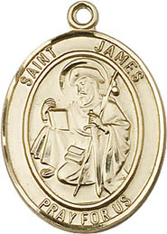 St. James GF Saint Medal
