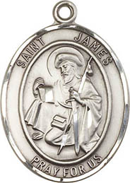 Religious Medals: St. James the Greater SS Medal