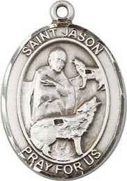 Religious Medals: St. Jason SS Saint Medal