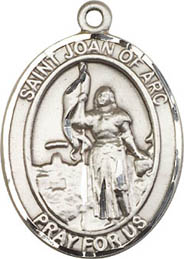 Religious Medals: St. Joan of Arc SS Saint Medal