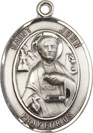 Religious Medals: St. John the Apostle SS Medal