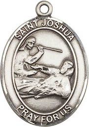 Religious Medals: St. Joshua SS Saint Medal