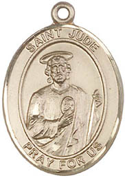 Religious Medals: St. Jude GF Saint Medal