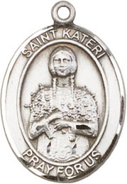 Religious Medals: Bl. Kateri SS Saint Medal