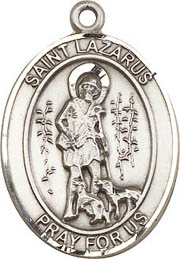 Religious Medals: St. Lazarus SS Saint Medal