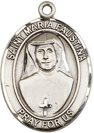 Religious Medals: St. Maria Faustina SS Medal
