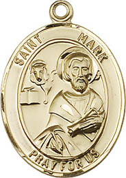 Religious Medals: St. Mark GF Saint Medal