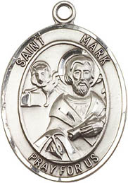 Religious Medals: St. Mark the Evangelist SS Mdl