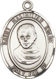 Religious Medals: St. Maximilian Kolbe SS Medal