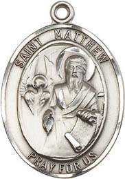 Religious Medals: St. Matthew the Apostle SS Mdl