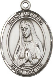Religious Medals: St. Martha SS Saint Medal