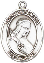 Religious Medals: St. Philomena SS Saint Medal