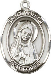 Religious Medals: St. Monica SS Saint Medal