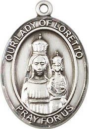 Religious Medals: Our Lady of Loretto SS Medal