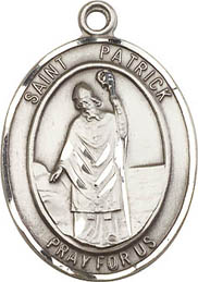 Religious Medals: St. Patrick SS Saint Medal