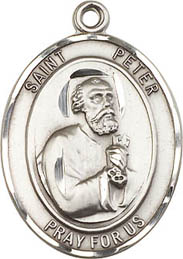 Religious Medals: St. Peter the Apostle SS Medal