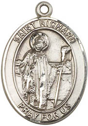Religious Medals: St. Richard SS Saint Medal