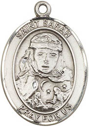 Religious Medals: St. Sarah SS Saint Medal