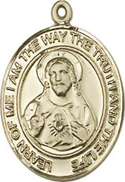 Religious Medals: Scapular GF Saint Medal