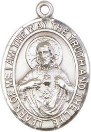 Religious Medals: Scapular SS Saint Medal