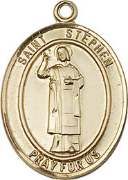 Religious Medals: St. Stephen GF Saint Medal