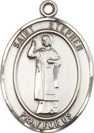 Religious Medals: St. Stephen SS Saint Medal