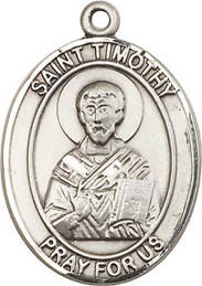 Religious Medals: St. Timothy SS Saint Medal