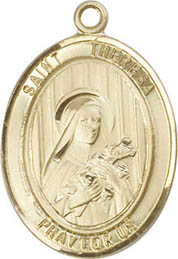 Religious Medals: St. Theresa (Therese) GF Medal