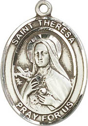 Religious Medals: St. Theresa (Therese) SS Medal