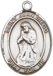 Religious Medals: St. Juan Diego SS Saint Medal