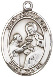 St. John of God SS Saint Medal