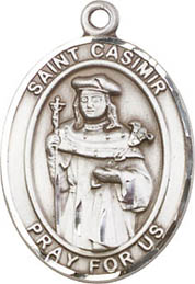 Religious Medals: St. Casimir SS Saint Medal