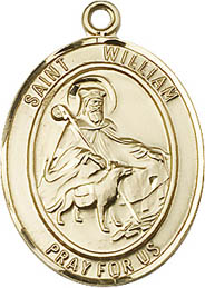 Religious Medals: St. William GF Saint Medal